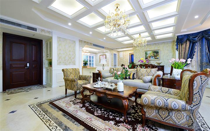 三居 欧式古典 客厅图片来自北京精诚兴业装饰公司在三里河一区的分享