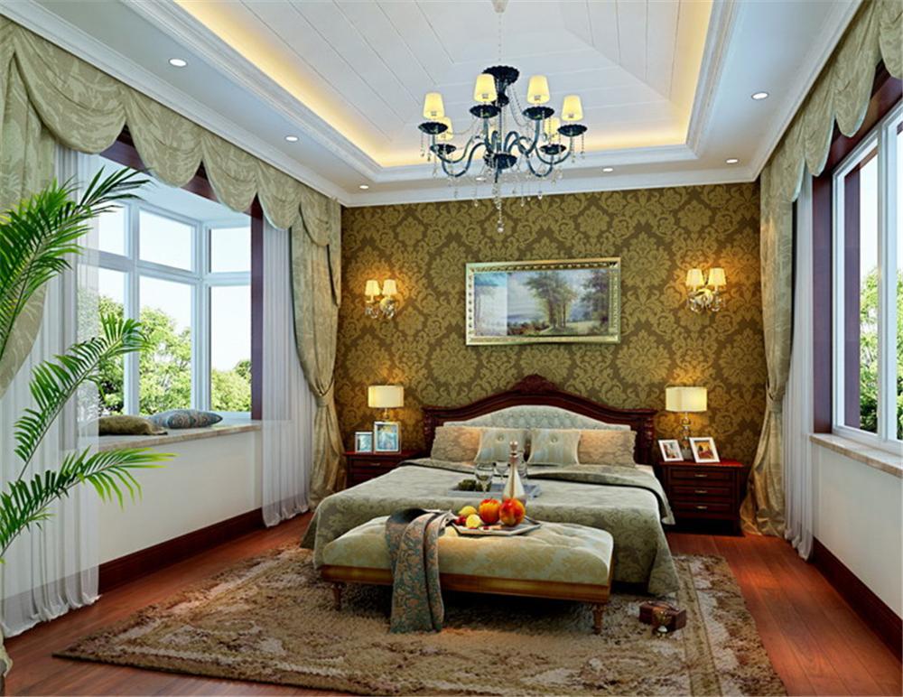 别墅 白领 收纳 80后 小资 卧室图片来自实创装饰完美家装在北京院子210平简欧风格案例赏析的分享