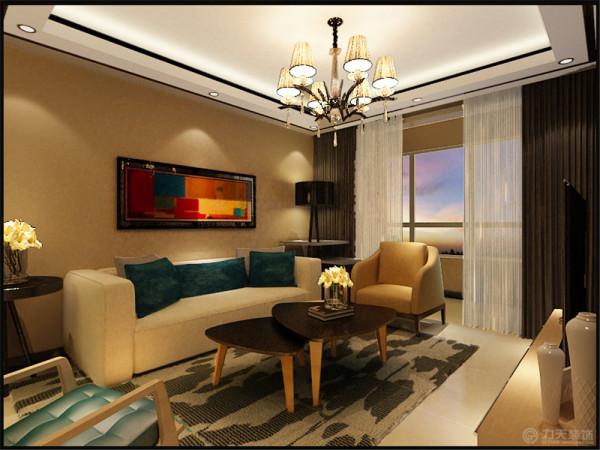 本案是两室一厅一卫一厨的户型。根据业主的喜爱,和年龄,加上业主喜欢的风格,所以本案将设计风格定为简约的风格。总体的灯光色调为暖黄色,让人不会有压力。