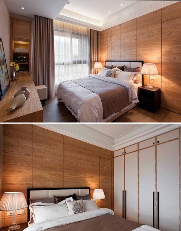 亚麻布质材的布艺沙发,除了耐脏之外,也带着粗犷的个性,让整个空间保持自然休闲感。 开放式的客厅宽敞大器,设计师选择较为低矮家具,自然营造出放大的视觉空间感。从餐厅看向客厅,整个空间感和谐统一。