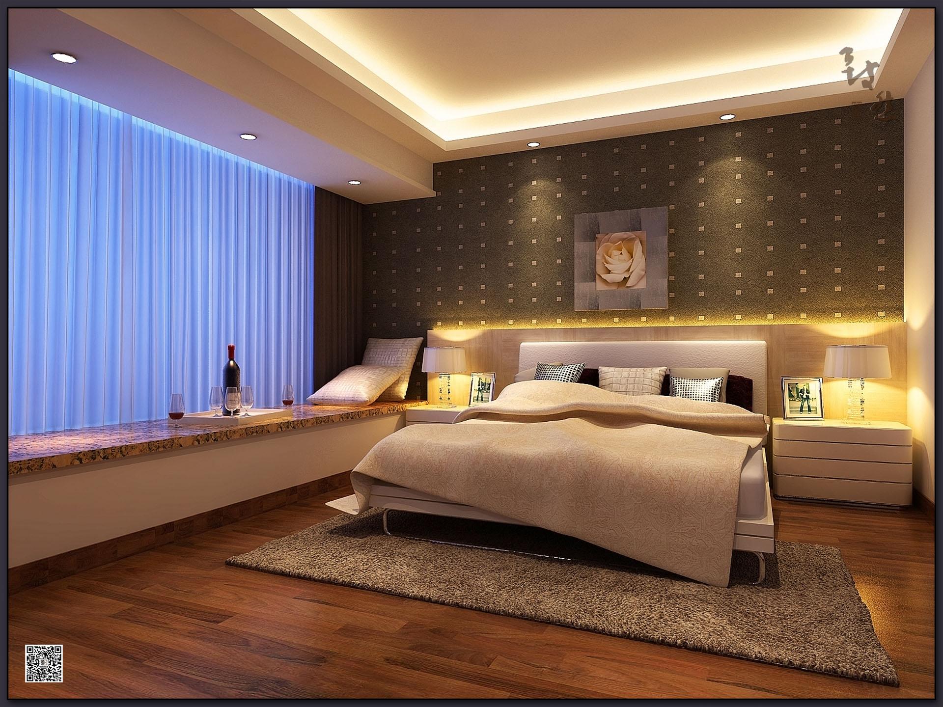 小资 简约 卧室图片来自广州致然装饰在保利心语E的分享