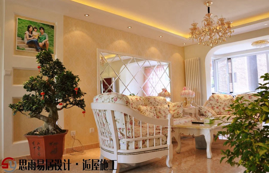 北京二手房 北京老房装 思雨易居 北京旧房 北京别墅 客厅图片来自思雨易居设计-包国俊在【扬州装修设计】120平现代欧式的分享