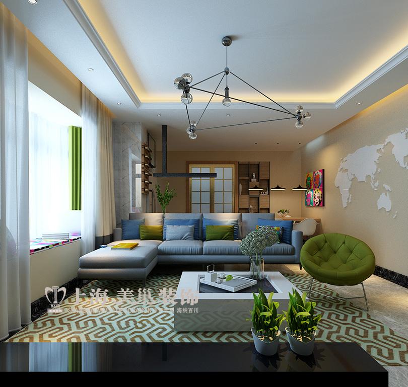 维也纳森林 装修 设计师 装饰 吧台 客厅图片来自曹素雅美巢装饰在维也纳森林120平装修效果图的分享