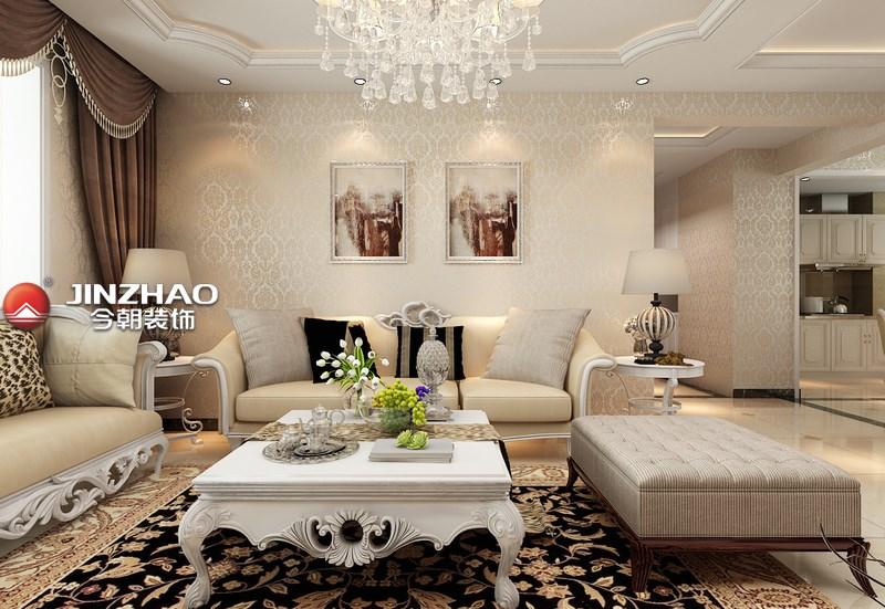 三居 客厅图片来自152xxxx4841在首开141平简欧风格的分享