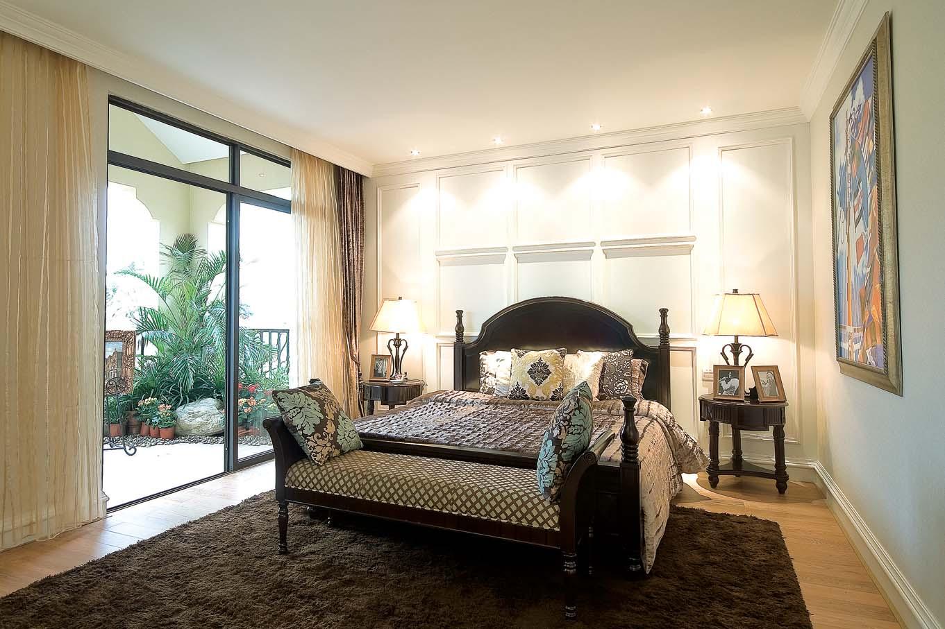 卧室图片来自成都家和装饰在花园别墅的分享