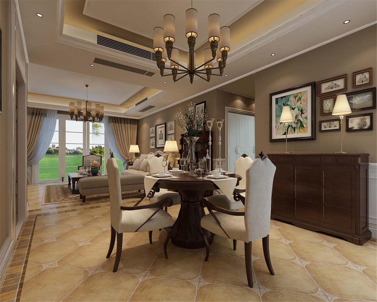 古北大城公 装修设计 简约欧式 腾龙设计 季蓓菁作品 餐厅图片来自腾龙设计在古北大成公寓装修简约欧式风格的分享