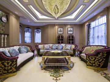 中海铂宫450平米法式新古典