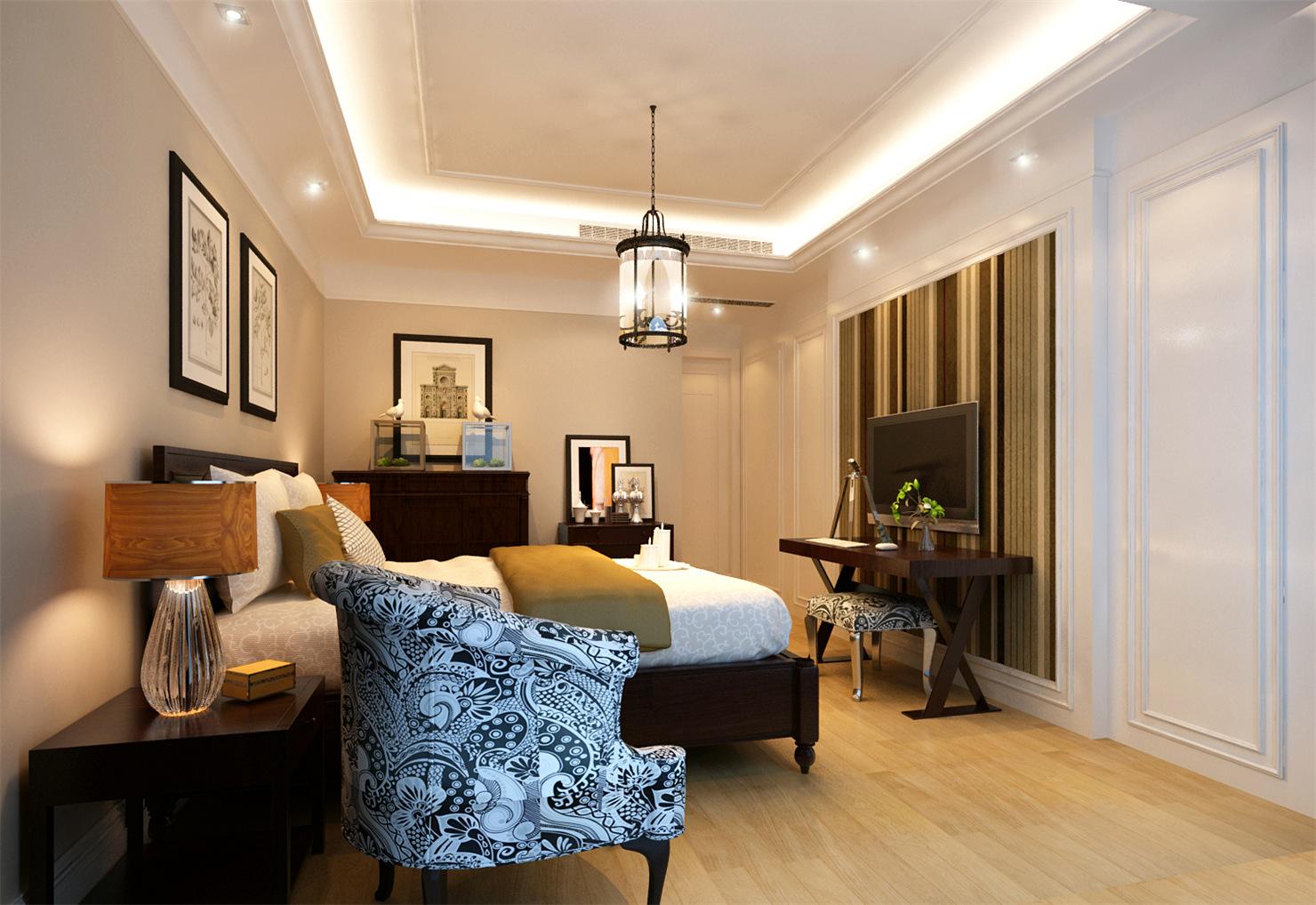 古北大城公 装修设计 简约欧式 腾龙设计 季蓓菁作品 卧室图片来自腾龙设计在古北大成公寓装修简约欧式风格的分享