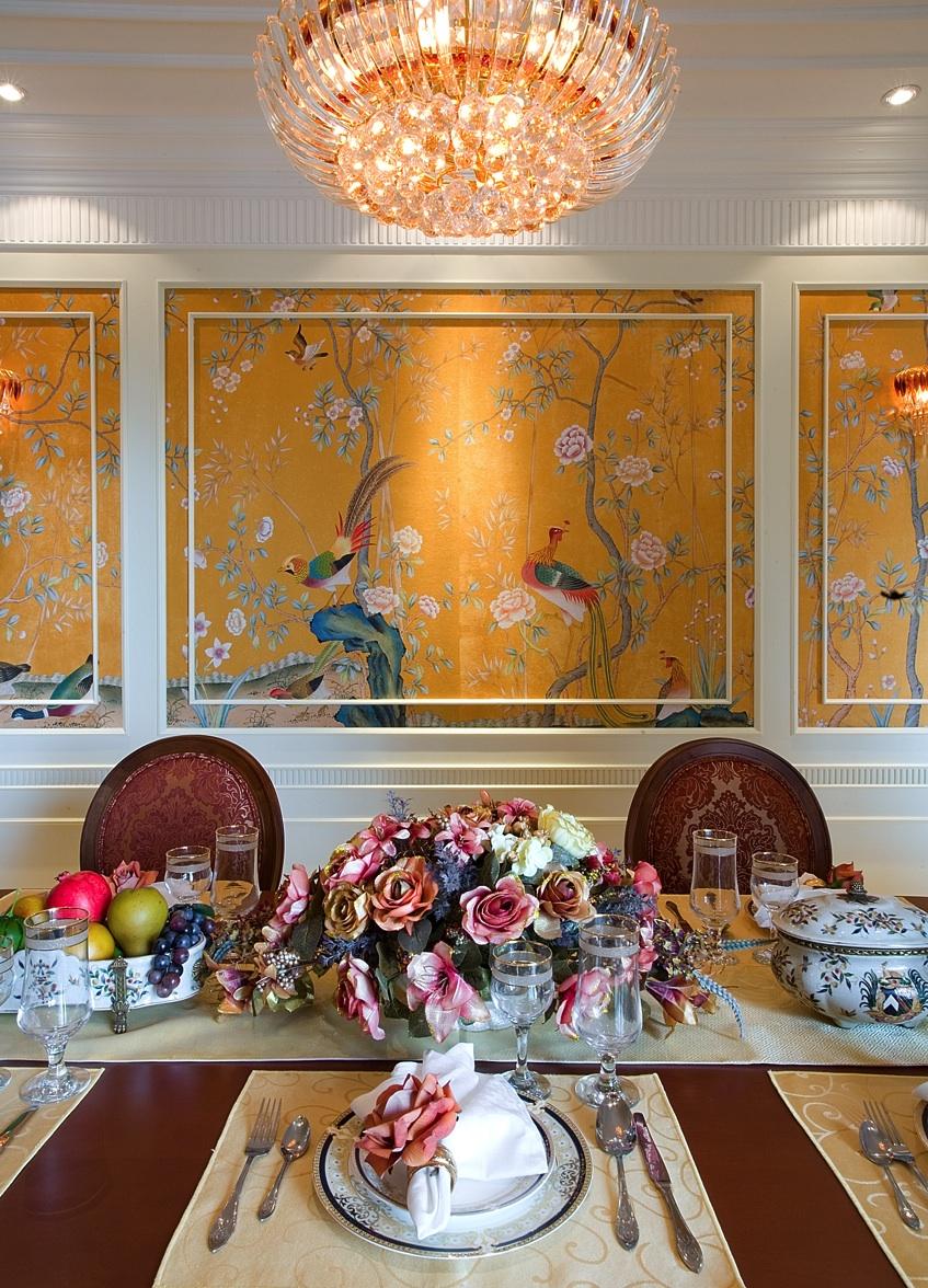 简约 欧式 城市之光 室内装修 餐厅图片来自上海尚层装饰官网在中凯城市之光名邸装修案例的分享