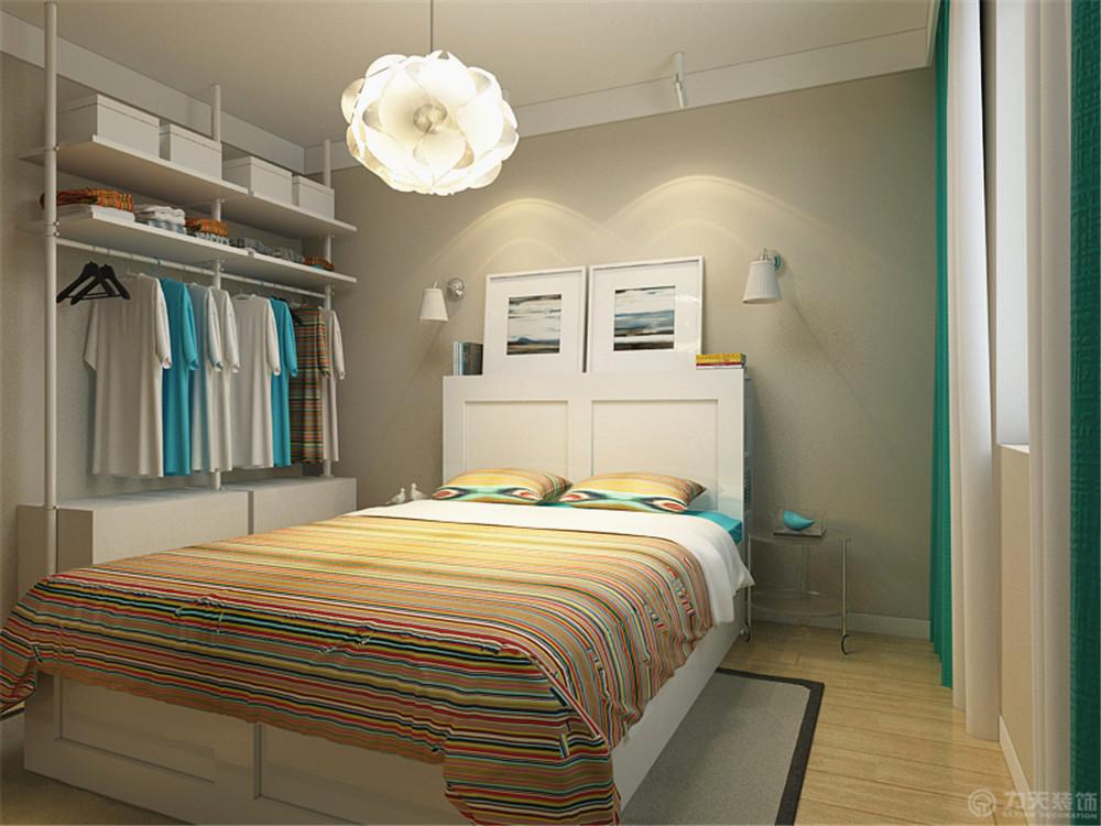 北欧 三居 收纳 白领 80后 小资 卧室图片来自阳光力天装饰在力天装饰-水竹花园121㎡的分享