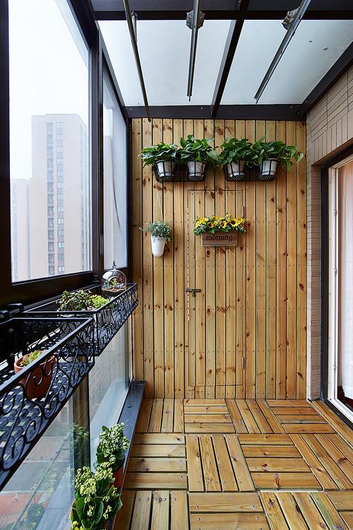 """阳台图片来自佰辰生活装饰在奇妙的软装""""神笔"""" 30w拎包入住的分享"""