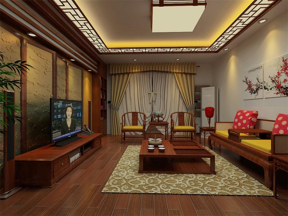 二居 白领 收纳 旧房改造 80后 小资 客厅图片来自实创装饰完美家装在孔雀城英国宫103平中式古典风格的分享