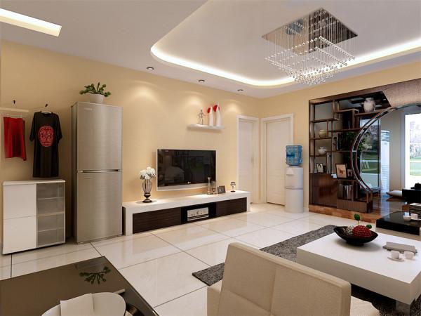 本设计为简约混搭风格。设计理念是简约,明朗。 首先从造型设计上来说,使的整个客厅空间简单而又明亮。从色调上又不缺乏温馨,休闲区体现中式内涵,沉稳而不沉闷,。