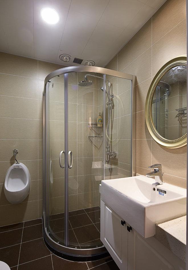 混搭 贝森公馆 装修设计 卫生间图片来自成都高度国际在【高清】135平混搭风格温馨实景的分享