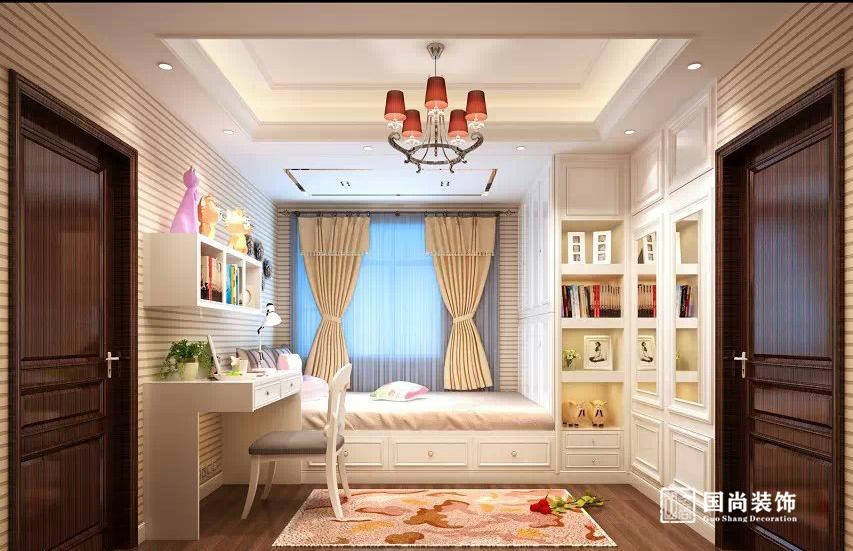 欧式 混搭 别墅 旧房改造 卧室图片来自额在丽景苑新古典别墅的分享
