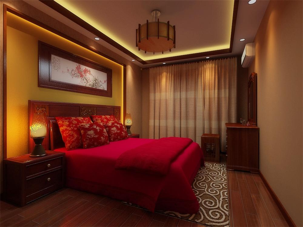 二居 白领 收纳 旧房改造 80后 小资 卧室图片来自实创装饰完美家装在孔雀城英国宫103平中式古典风格的分享