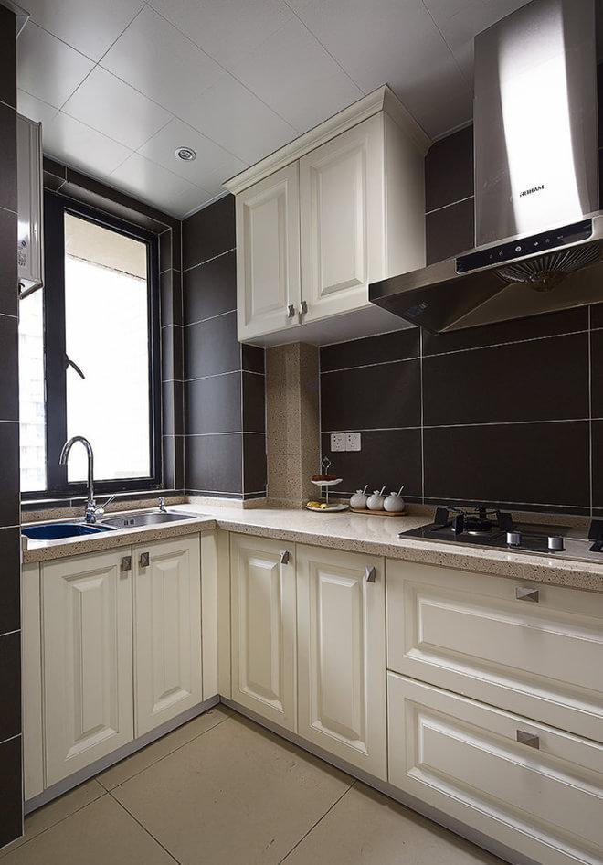 混搭 贝森公馆 装修设计 厨房图片来自成都高度国际在【高清】135平混搭风格温馨实景的分享