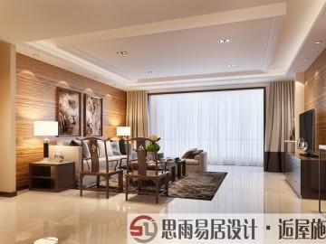 领秀翡翠山C2户型227平米新中式