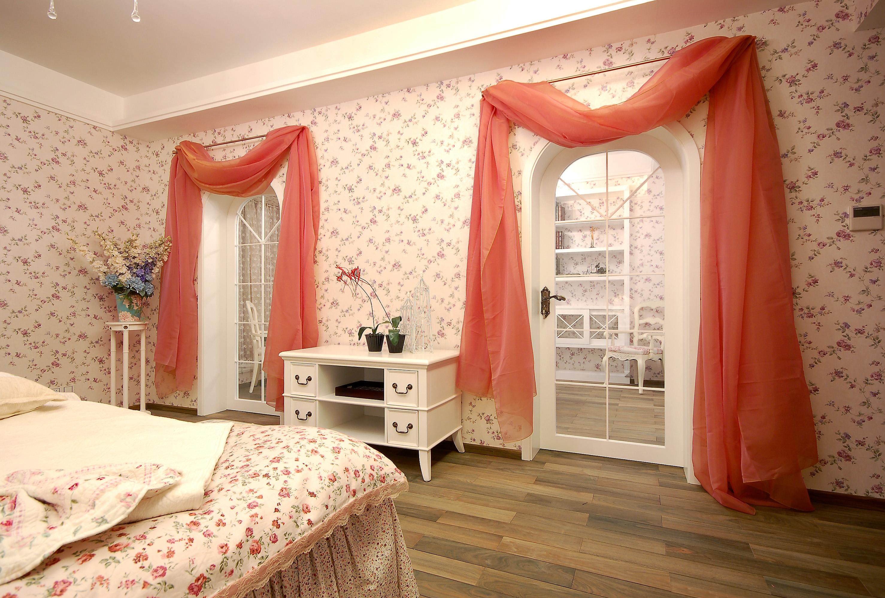 卧室图片来自成都家和装饰在来自英国的田园梦想的分享