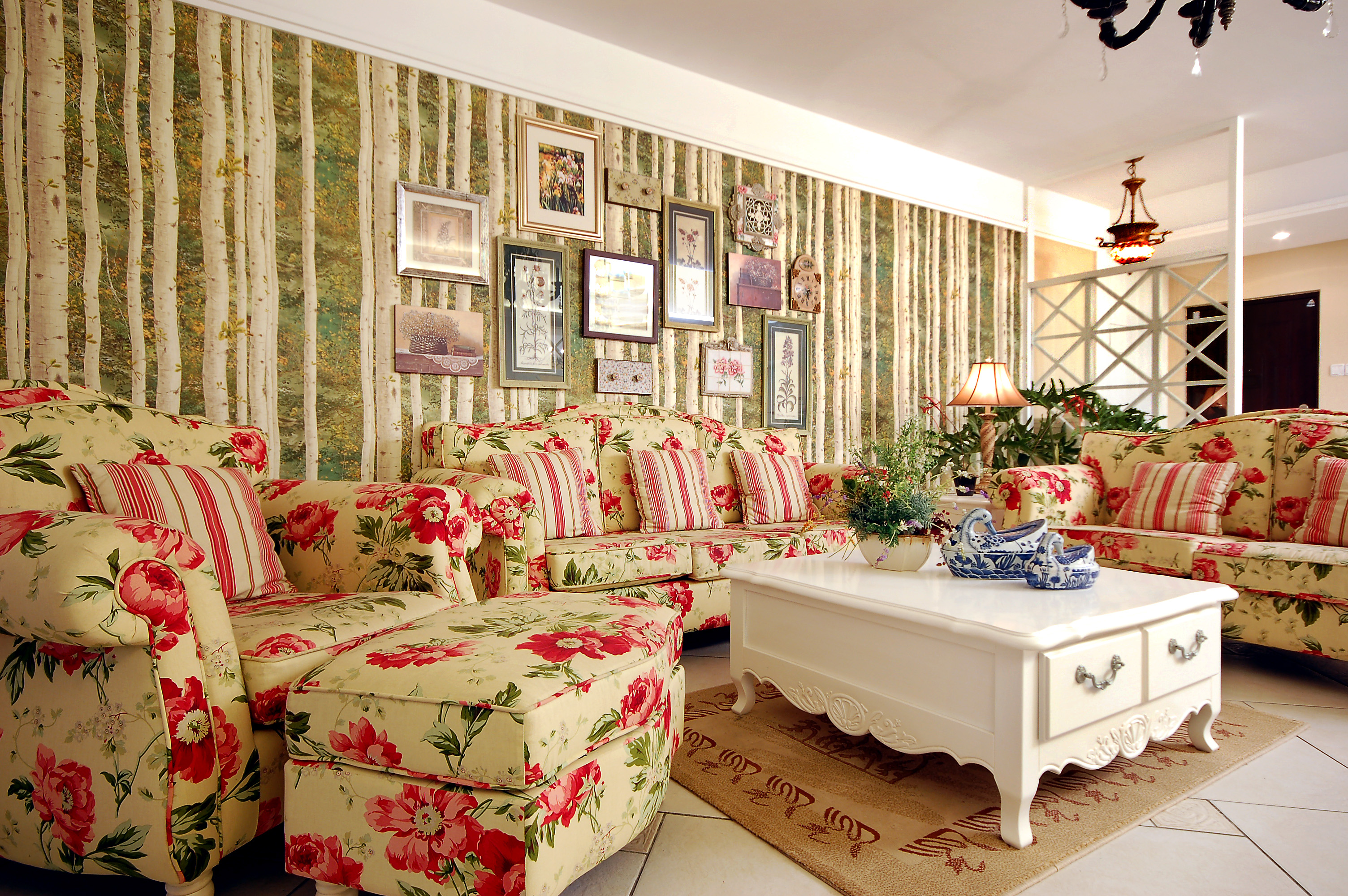 客厅图片来自成都家和装饰在来自英国的田园梦想的分享