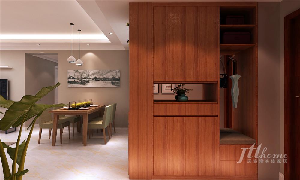 简约 三居 宜居 舒适 温馨 玄关图片来自居泰隆深圳在鹏湾花园现代简约三居室的分享