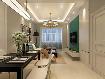 93平北欧风格老房翻新三居室
