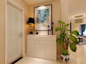 简约 三居 宜居 舒适 温馨 玄关图片来自居泰隆深圳在麟恒中心广场现代简约三居室的分享