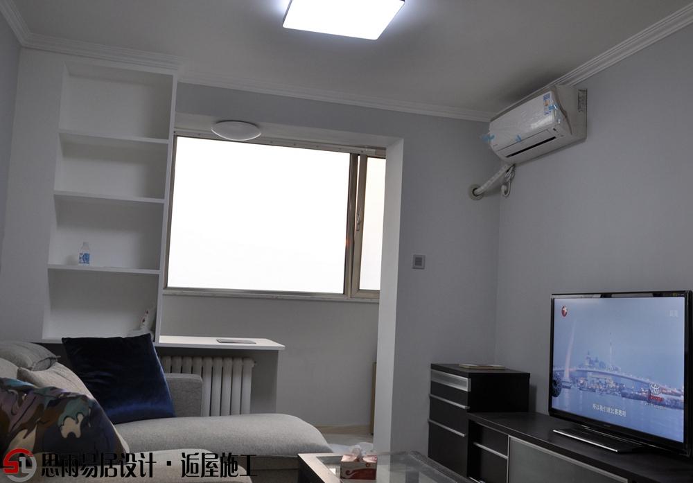 北京旧房 北京二手房 北京别墅 北京老房 思雨易居 客厅图片来自思雨易居设计-包国俊在《纯净》30平米现代风格的分享