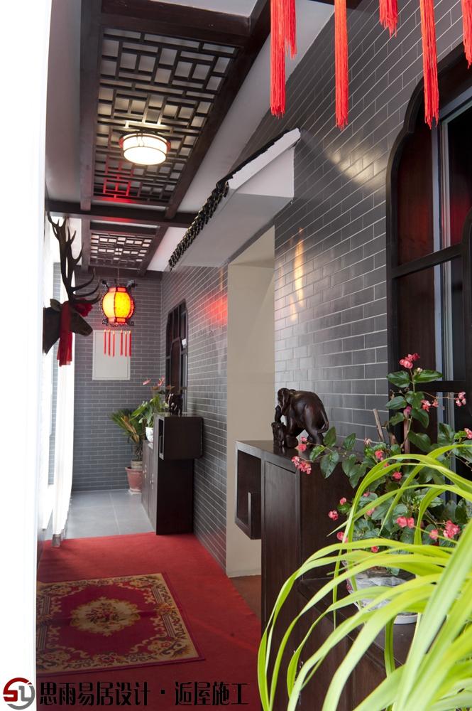 北京旧房 北京二手房 北京老房 扬州建筑 北京别墅 阳台图片来自思雨易居设计-包国俊在《红动逍遥居》300平中式风格的分享