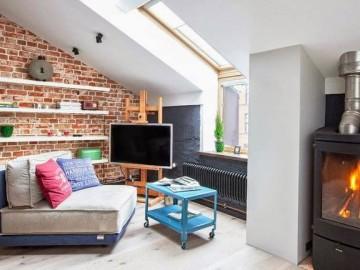 40平米创新阁楼公寓
