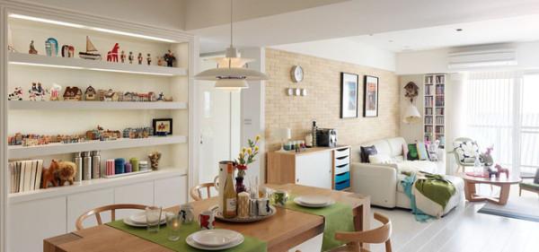 住宅的环境影响居住者的生活型态,居住在美感与机能兼具的良好空间之中,满足屋主需求让人每天都乐意回家。新成屋变身成舒适温暖的北欧风格,一起来看看吧~