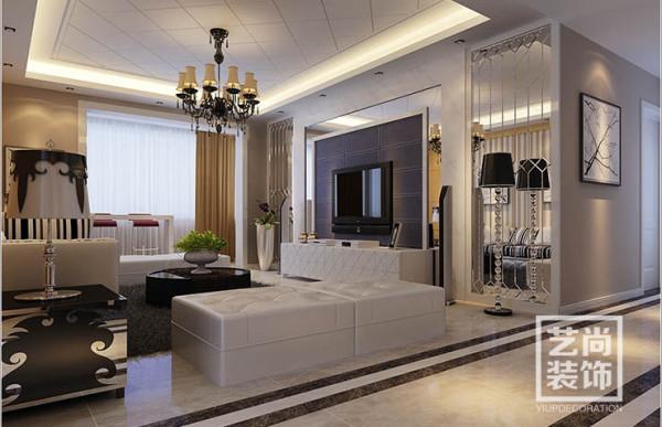 正商华钻118平方三室两厅装修效果图