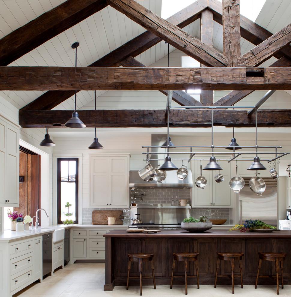 厨房图片来自北京精诚兴业装饰公司在欧式田园创意木头房的分享