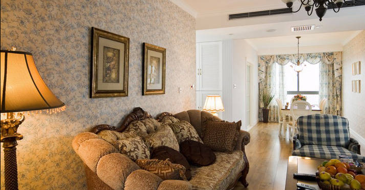 客厅图片来自天津印象装饰有限公司在都市新居装饰 案例赏析2015-9-14的分享