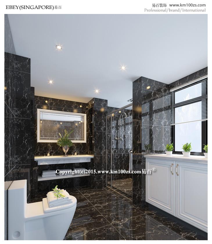 简约 三居 白领 卫生间图片来自昆明易百装饰-km100zs在龙湖水晶郦城现代风格的分享