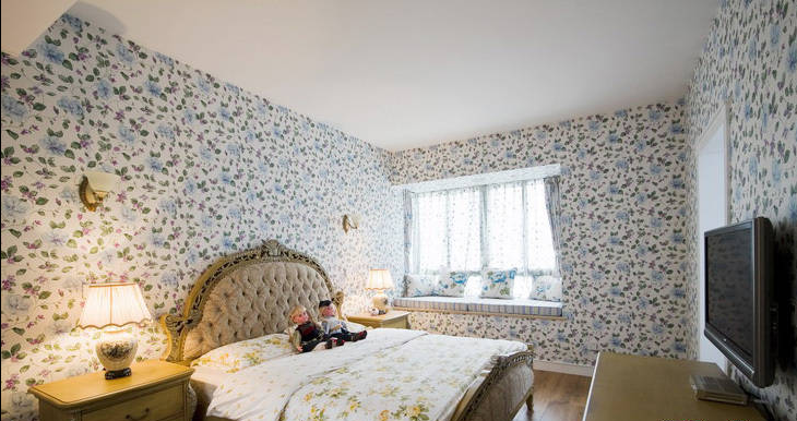 卧室图片来自天津印象装饰有限公司在都市新居装饰 案例赏析2015-9-14的分享