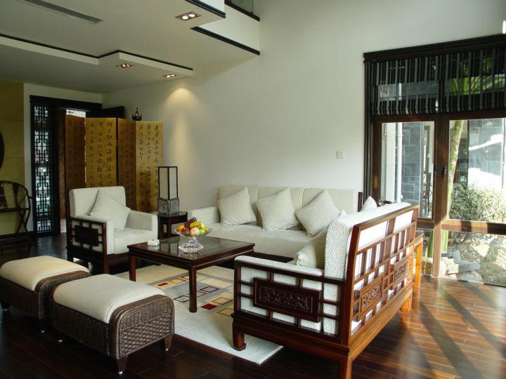 中海名城 160平米 现代中式 复式 客厅图片来自cdxblzs在中海名城 160平米 现代中式 复式的分享