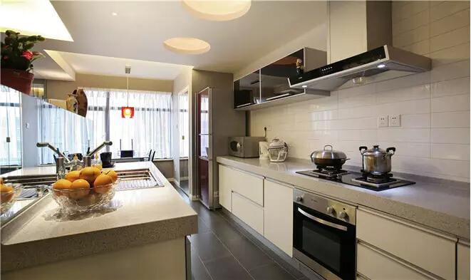 简约 储物空间 二居 旧房改造 厨房图片来自业之峰装饰旗舰店在最大化储物空间现代简约不简单的分享