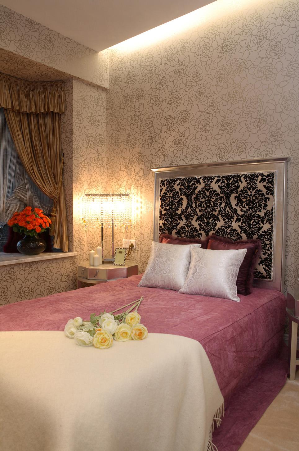 简约 欧式 三居 白领 小资 卧室图片来自北京装修设计o在中铁花溪渡欧式风格装修案例的分享