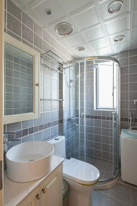 中海国际 100平米 田园 四室 卫生间图片来自cdxblzs在中海国际 100平米 田园 四室的分享