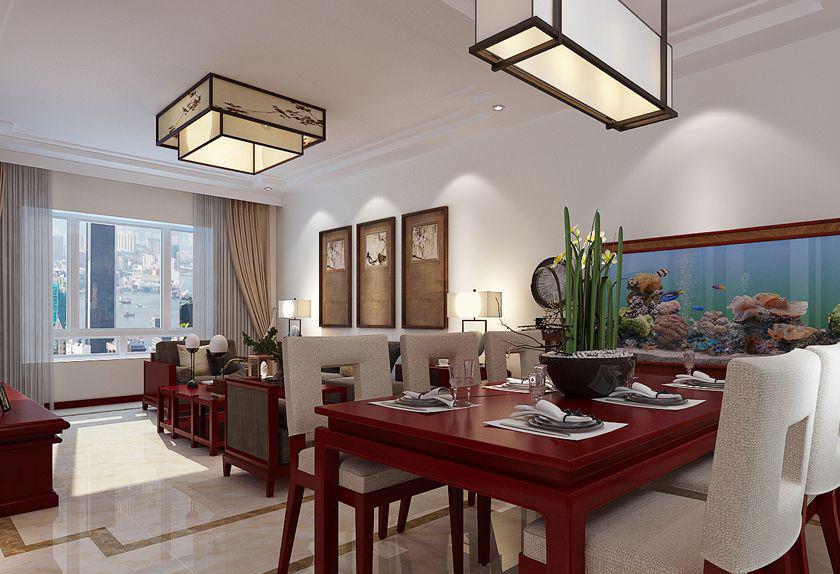 简约 中式 四居 白领 收纳 80后 小资 旧房改造 餐厅图片来自实创装饰百灵在庄重优雅的中式底蕴的分享