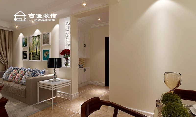 欧式 三居 白领 收纳 旧房改造 吉佳装饰 装修设计 装修施工 合肥装修 客厅图片来自合肥吉佳装饰在瑞地祥和府 温馨舒适家的分享