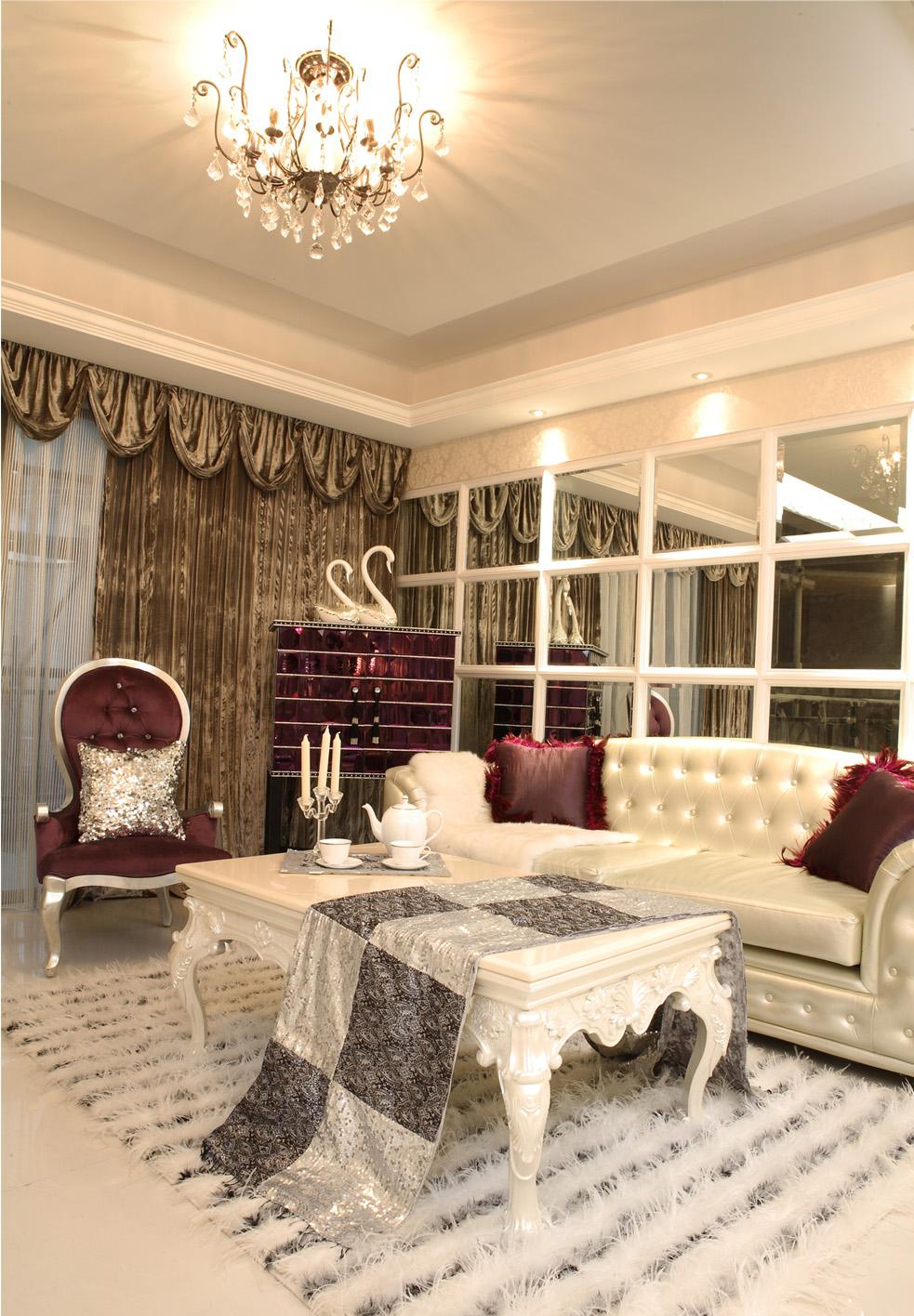 简约 欧式 三居 白领 小资 客厅图片来自北京装修设计o在中铁花溪渡欧式风格装修案例的分享