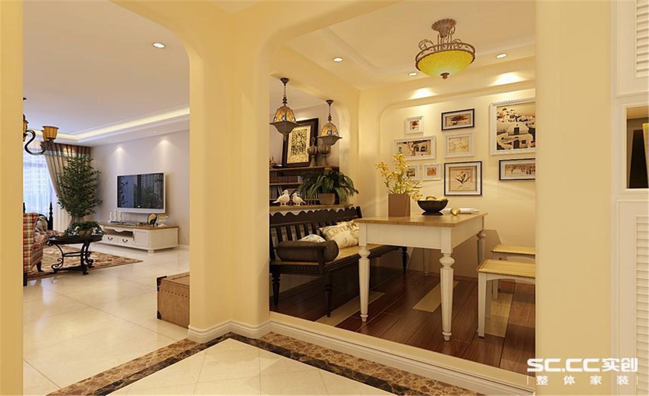 美式 田园 三居 整体家装 餐厅图片来自郑州实创装饰啊静在美式田园三居的分享