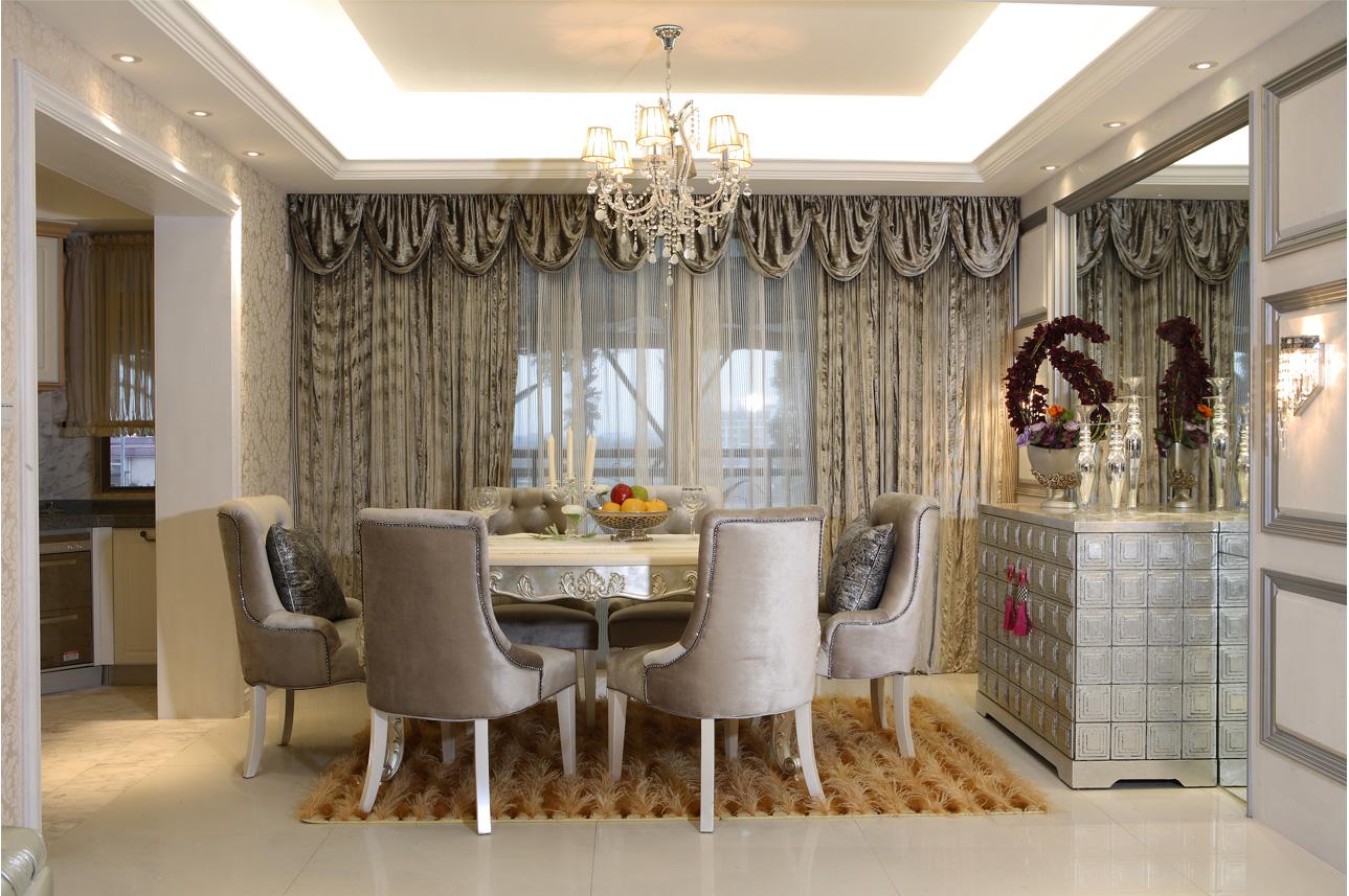 简约 欧式 三居 白领 小资 餐厅图片来自北京装修设计o在中铁花溪渡欧式风格装修案例的分享