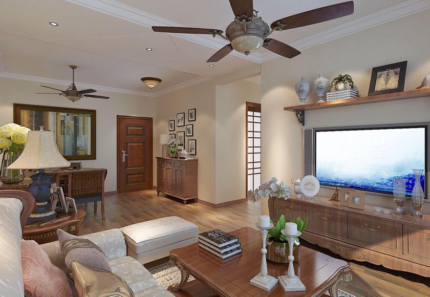 简约 欧式 二居 白领 收纳 80后 小资 客厅图片来自实创装饰百灵在小空间美式特权88平米的分享