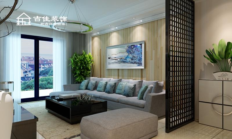 简约 三居 白领 收纳 合肥装修 合肥设计 装修设计 吉佳装饰 客厅图片来自合肥吉佳装饰在海洲景秀世家现代时尚家的分享