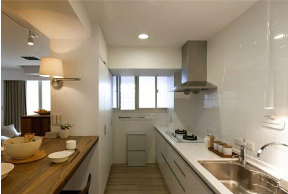 日式 简约 厨房图片来自北京精诚兴业装饰公司在简单的生活日式简约风的阳光公寓的分享
