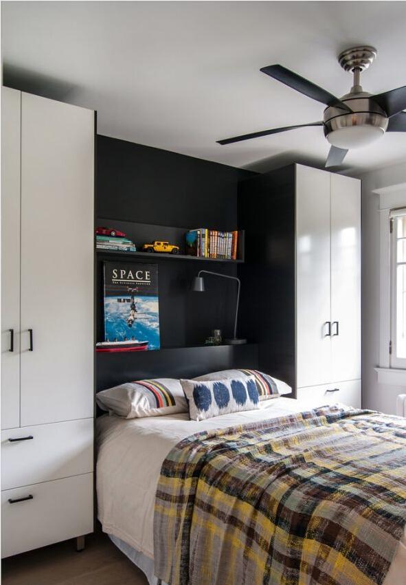 小清新 住宅公寓 吊灯 卧室图片来自北京精诚兴业装饰公司在让房间立马小清新起来的分享