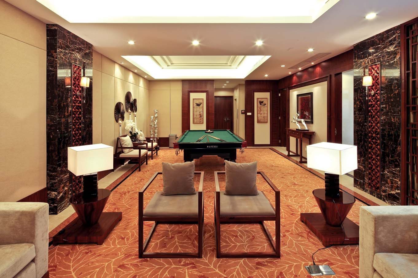 新中式 中式风格 室内设计 装修风格 装修设计 其他图片来自别墅装修设计yan在新中式风格首创国际半岛的分享